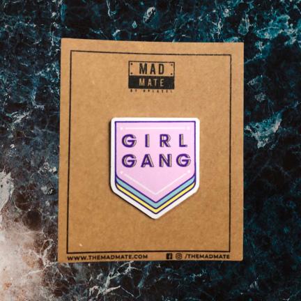MM1168 GIRL GANG Metal Pin