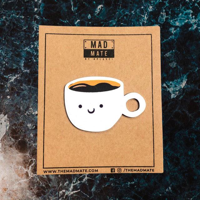 MM1221 Espresso Coffee Metal Pin